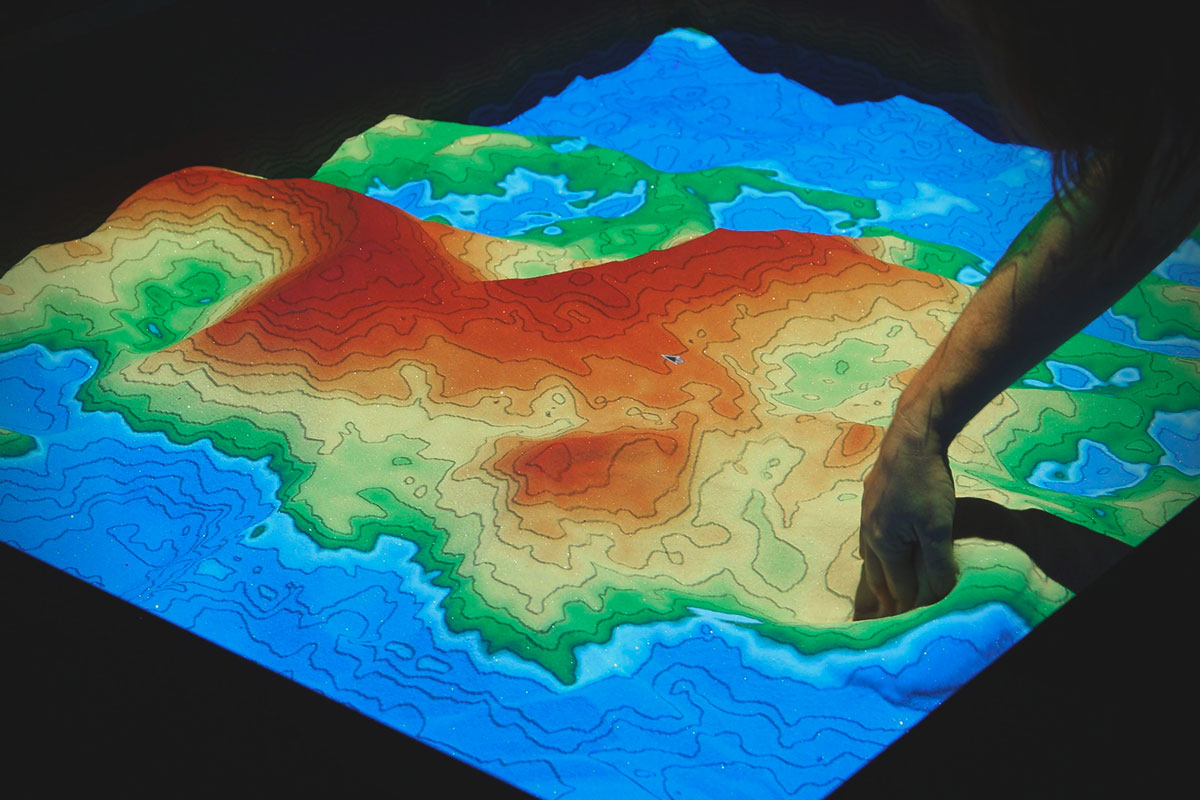caja de arena interactiva