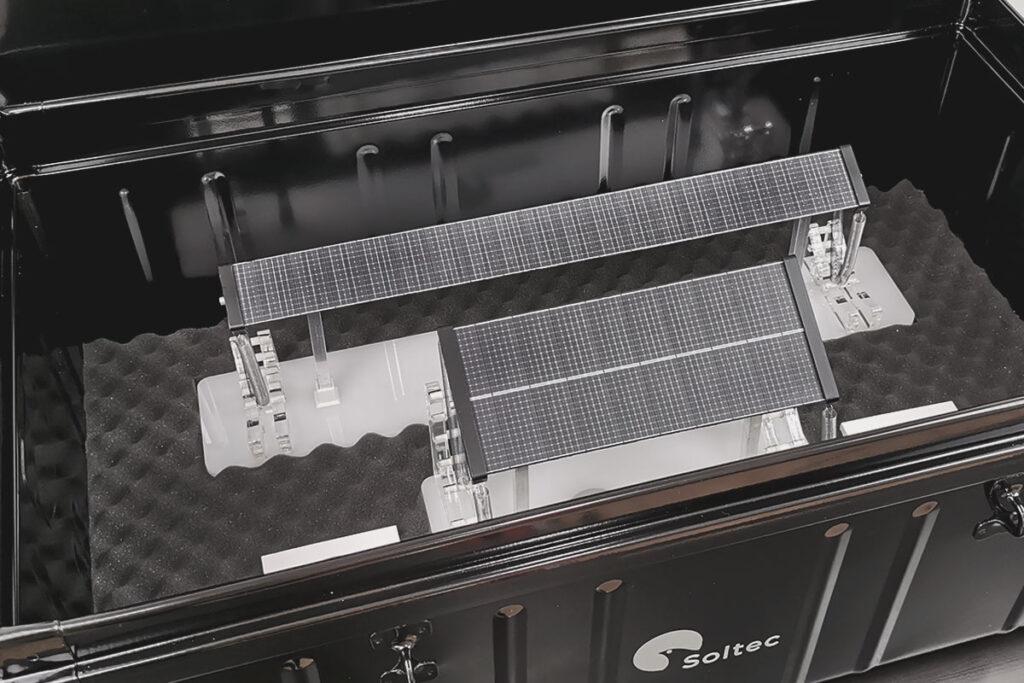 maqueta ensayos ingenieria solar