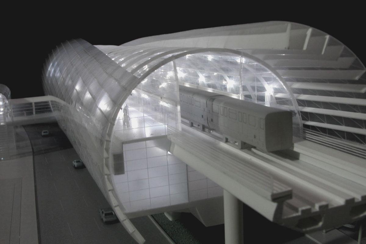 maqueta estacion tren